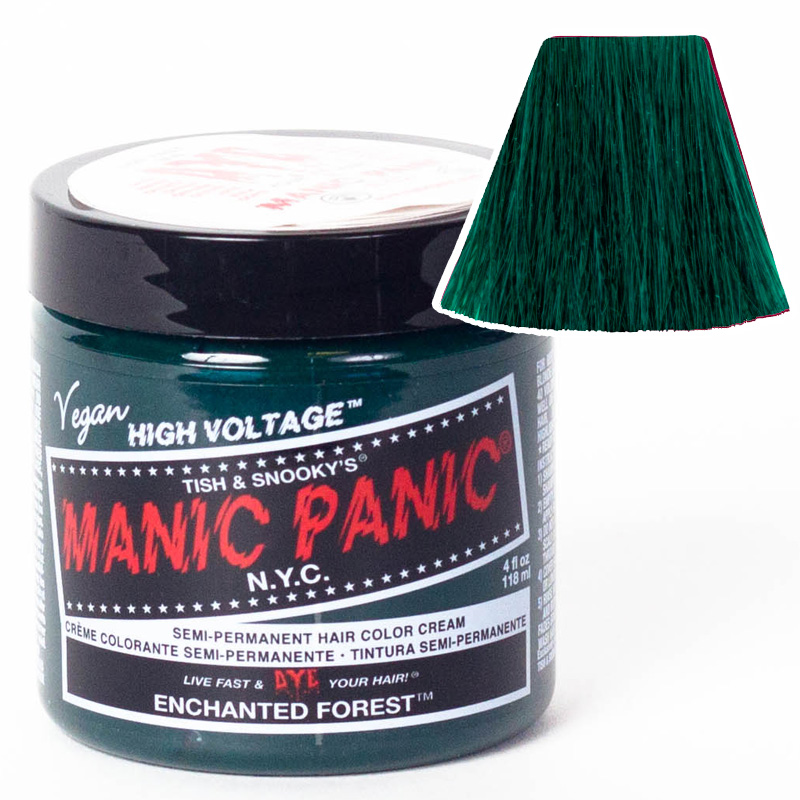 Краска для волос ENCHANTED FOREST CLASSIC HAIR DYE - Manic Panic
